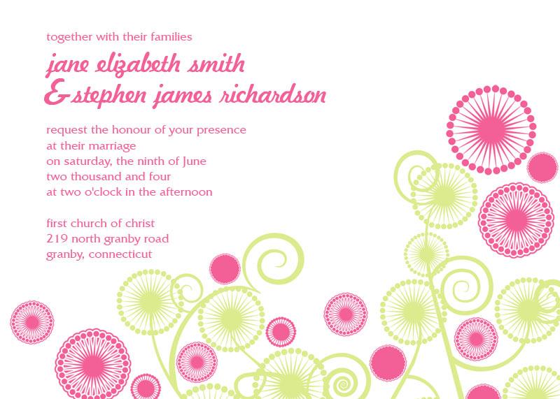 circles free wedding invitation wedding invitation templates